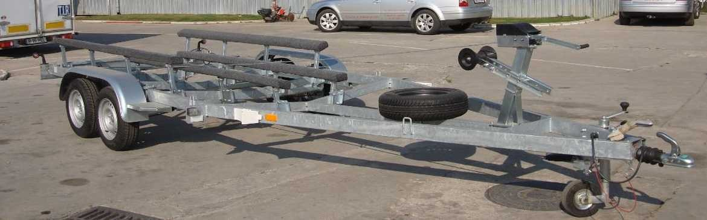 Remorca transport barci